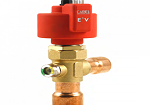E4V95BWT00 ЭЛЕКТРОННЫЙ РАСШИРИТЕЛЬНЫЙ ВЕНТИЛЬ ELECTRONIC EXPANSION VALVE E4V-95 INTEGRAL SCREW 1+1/8x1+3/8 INCH WITH SIGHT GLASS